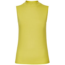 Buy Jaeger Ribbed Funnel Neck Top Online at johnlewis.com