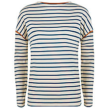 Buy Jaeger Tipped Winter Breton Top Online at johnlewis.com