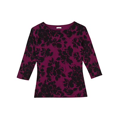 Precis Petite Aileen Printed Jumper, Pink