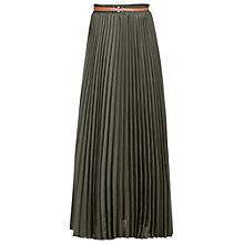 Buy Jolie Moi Crepe Pleated Maxi Skirt Online at johnlewis.com