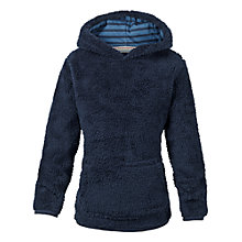 Buy Fat Face Boys' Popover Fleece, Navy Online at johnlewis.com