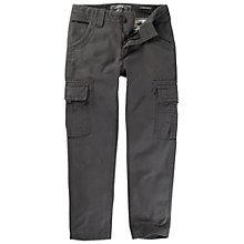 Buy Fat Face Boys' Penzance Cargo Trousers, Grey Online at johnlewis.com