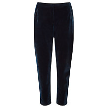 Buy Minimum Halle Velvet Trousers, Thunder Blue Online at johnlewis.com
