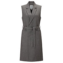 Buy Minimum Konnie Sleeveless Blazer, Grey Online at johnlewis.com