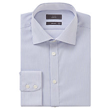 Buy John Lewis Bengal Stripe Slim Fit Shirt, Blue/White Online at johnlewis.com