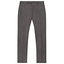 Buy Reiss Severinos Slim Prince of Wales Check Trousers, Charcoal Online at johnlewis.com