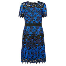 Buy Fenn Wright Manson Petite Planet Dress, Black/Blue Online at johnlewis.com