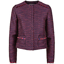 Buy Fenn Wright Manson Petite Rocket Jacket, Pink/Navy Online at johnlewis.com