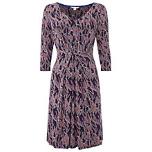 Buy White Stuff Mable Jersey Dress, Peckham Blue Online at johnlewis.com