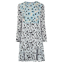 Buy Warehouse Daisy Flippy Dress, Multi Online at johnlewis.com