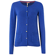 Buy White Stuff Jittery Cardigan, Merlot Blue Online at johnlewis.com