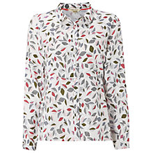 Buy White Stuff Breaktime Shirt, White Online at johnlewis.com