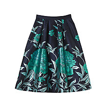 Buy Precis Petite Alvina Jacquard Prom Skirt, Multi/Blue Online at johnlewis.com