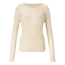 Buy Jigsaw Cloud Cashmere Crew Jumper Online at johnlewis.com