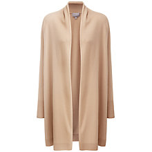 Buy Pure Collection Bree Shawl Cashmere Cardigan, Camel Online at johnlewis.com