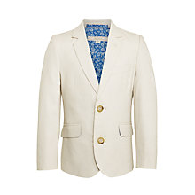 Buy John Lewis Heirloom Collection Boys' Linen Cotton Jacket Online at johnlewis.com