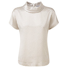 Buy Pure Collection Marie Top, Silver Diamond Online at johnlewis.com