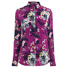 Buy Oasis Botanical Bouquet Shirt, Pink/Multi Online at johnlewis.com
