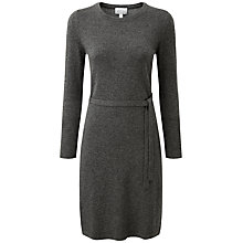 Buy Pure Collection Delilah Cashmere Dress, Soft Charcoal Online at johnlewis.com