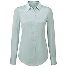 Buy Pure Collection Jayda Pure Silk Blouse, Soft Opal Online at johnlewis.com