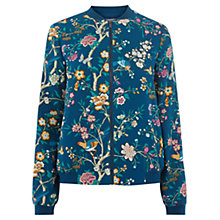 Buy Oasis V&A Bomber Jacket, Multi Online at johnlewis.com