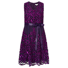 Buy Studio 8 Candis Dress, Purple Online at johnlewis.com