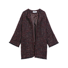 Buy Gerard Darel Brit Coat, Dark Red Online at johnlewis.com