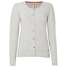 Buy White Stuff Jittery Cardigan, Light Grey Online at johnlewis.com