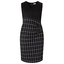 Buy Studio 8 Naomi Dress, Black/White Online at johnlewis.com