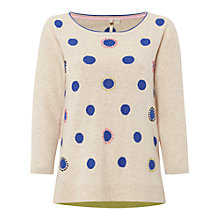 Buy White Stuff Spot Jumper, Natural Online at johnlewis.com