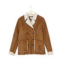 Buy Fat Face Aberfeldy Jacket, Demerara Online at johnlewis.com