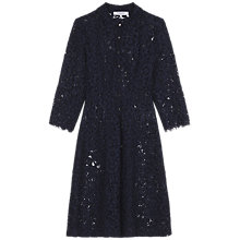 Buy Gerard Darel Bulle Dress, Navy Blue Online at johnlewis.com