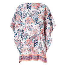 Buy East Print Kaftan, Pink Online at johnlewis.com