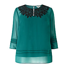 Buy Studio 8 Enya Top, Jade Online at johnlewis.com