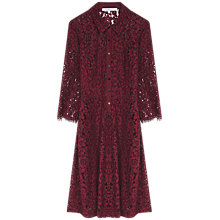 Buy Gerard Darel Bulle Dress, Dark Red Online at johnlewis.com