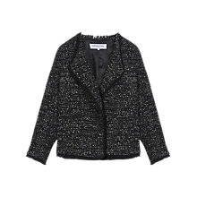 Buy Gerard Darel Alma Jacket, Black/White Online at johnlewis.com