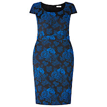 Buy Studio 8 Tarina Dress, Cobalt/Black Online at johnlewis.com
