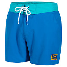"Buy Speedo Vintage Contrast 14"" Watershorts, Blue Online at johnlewis.com"