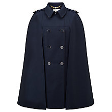 Buy Somerset by Alice Temperley Cashmere Blend Cape, Blue Online at johnlewis.com