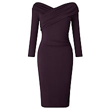 Buy Bruce by Bruce Oldfield Off The Shoulder Wrap Dress Online at johnlewis.com