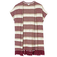 Buy Fat Face Salton Wrap Cardigan, Elderberry Online at johnlewis.com