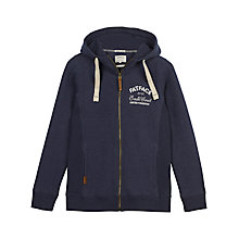 Buy Fat Face Heritage Zip Through Hoodie, Navy Online at johnlewis.com