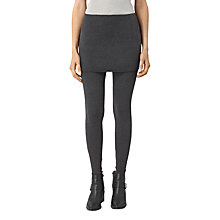 Buy AllSaints Raffi Leggings, Charcoal Grey Online at johnlewis.com