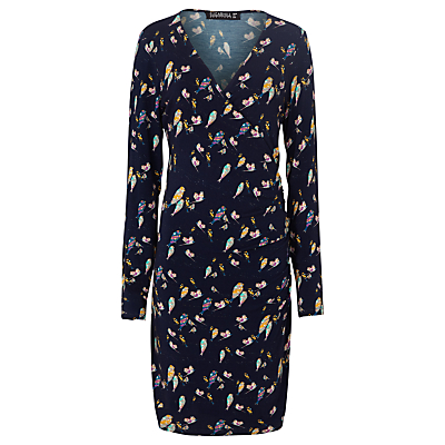 Sugarhill Boutique Callie Bright Birdie Dress, Navy