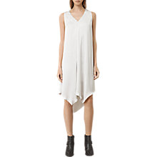 Buy AllSaints Blaze Dress, Storm Grey Online at johnlewis.com