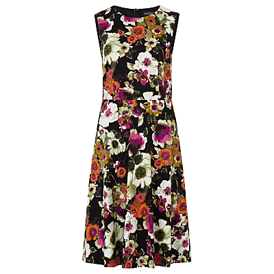 Sugarhill Boutique Anna Floral Print Dress, Black/Multi