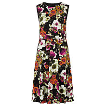 Buy Sugarhill Boutique Anna Floral Print Dress, Black/Multi Online at johnlewis.com