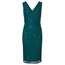 Buy Sugarhill Boutique Rimona Sleeveless Lace Dress, Dark Teal Online at johnlewis.com