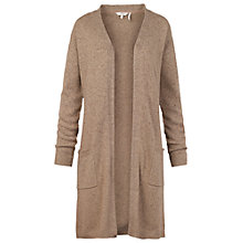 Buy Fat Face Wilden Longline Cardigan, Sand Online at johnlewis.com