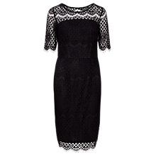 Buy Sugarhill Boutique Grace Lace Dress, Black Online at johnlewis.com